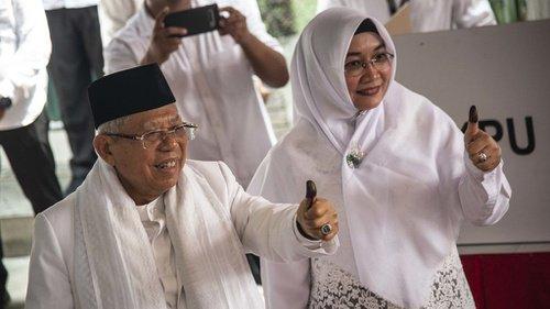 Suara Jokowi-Ma'ruf Keok di Banten