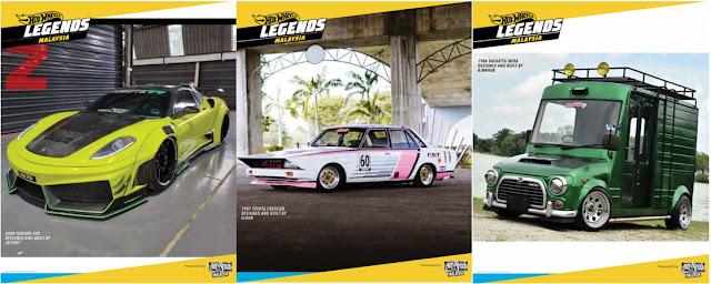 Hot Wheels Legend Tour 2021 Malaysia