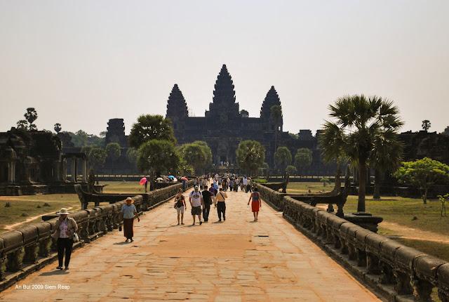 Du lịch Siem Reap, Campuchia 2009
