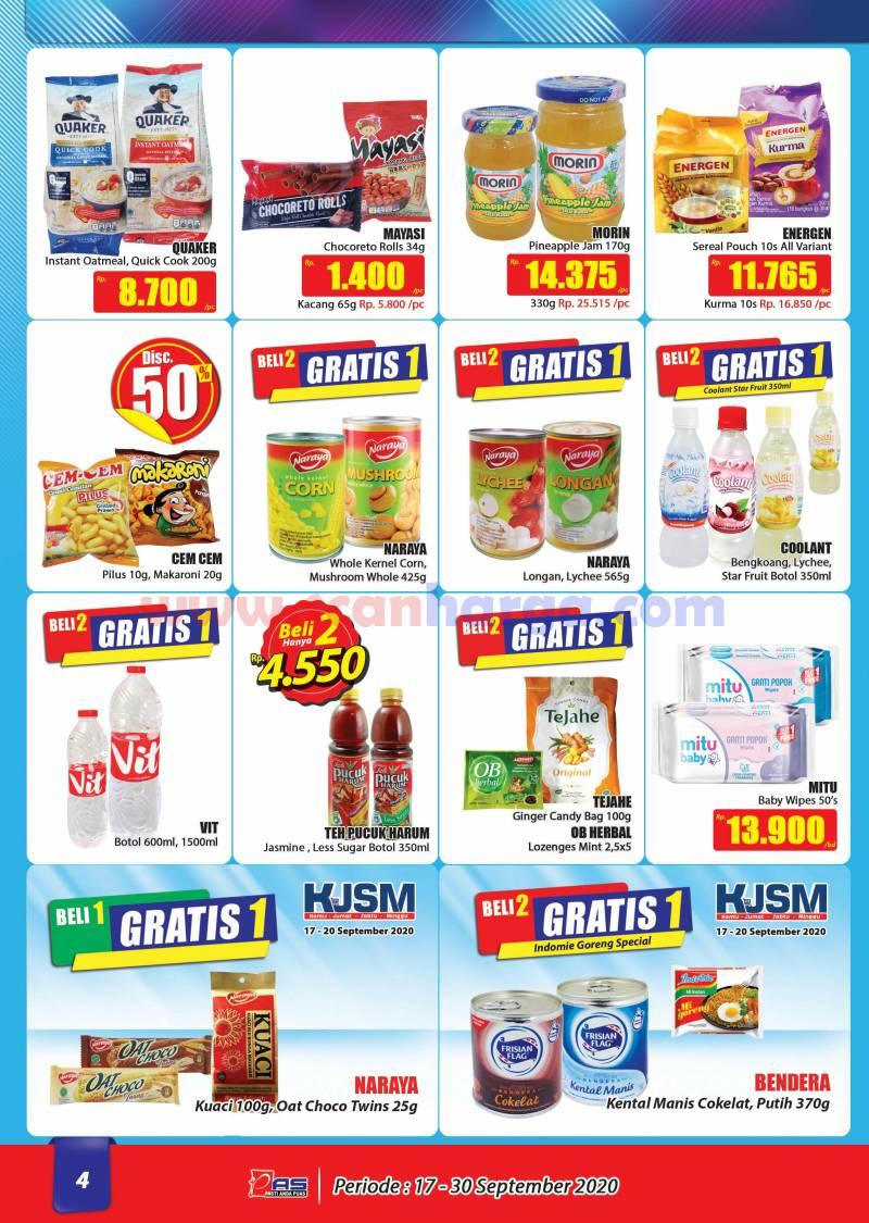 Katalog Promo Hari Hari Pasar Swalayan 17 - 30 September 2020