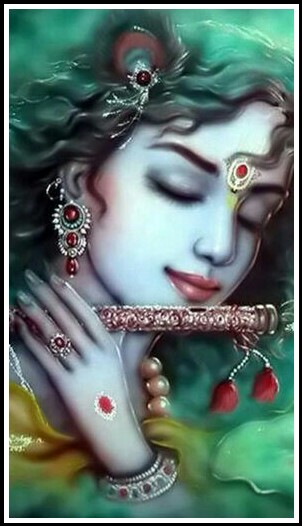 sri krishna art images