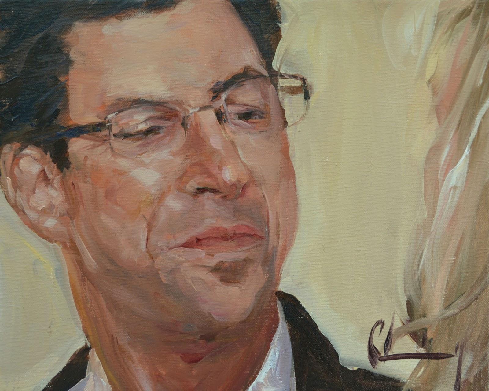 Chuck Larivey OPA Oil Painter Familar Faces 2