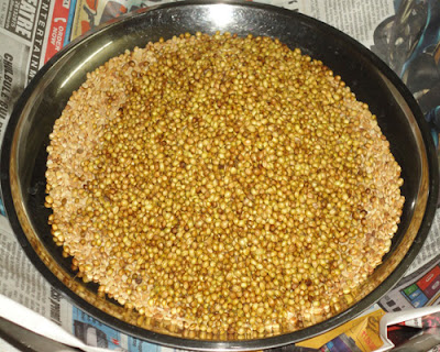 roasted coriander seeds