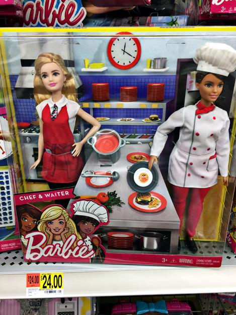 Hey It S Muff Barbie Chef Waiter Set
