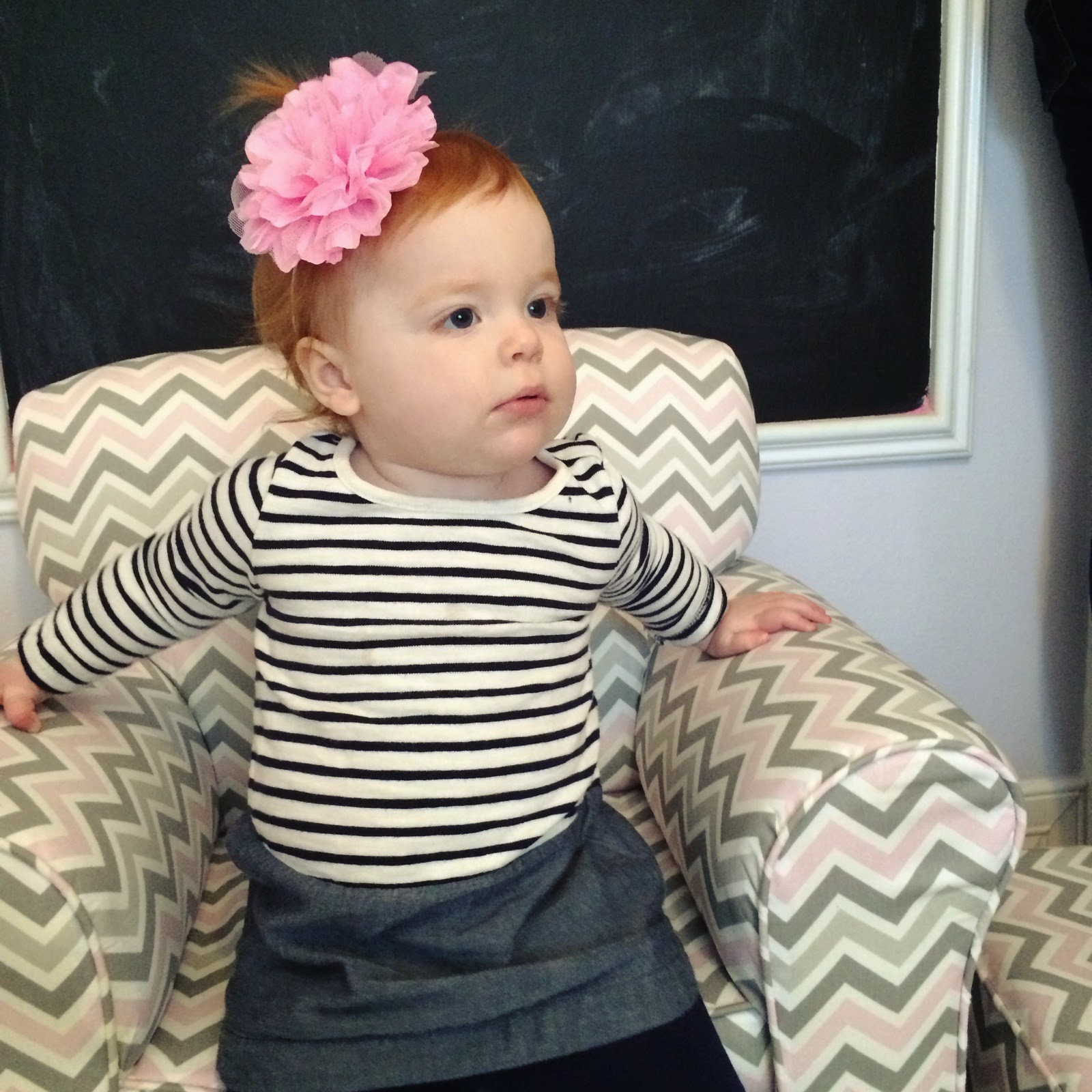 Veronika S Blushing Harper S Nursery Updated: Today We Went To Amanda's House For A Play-date. There
