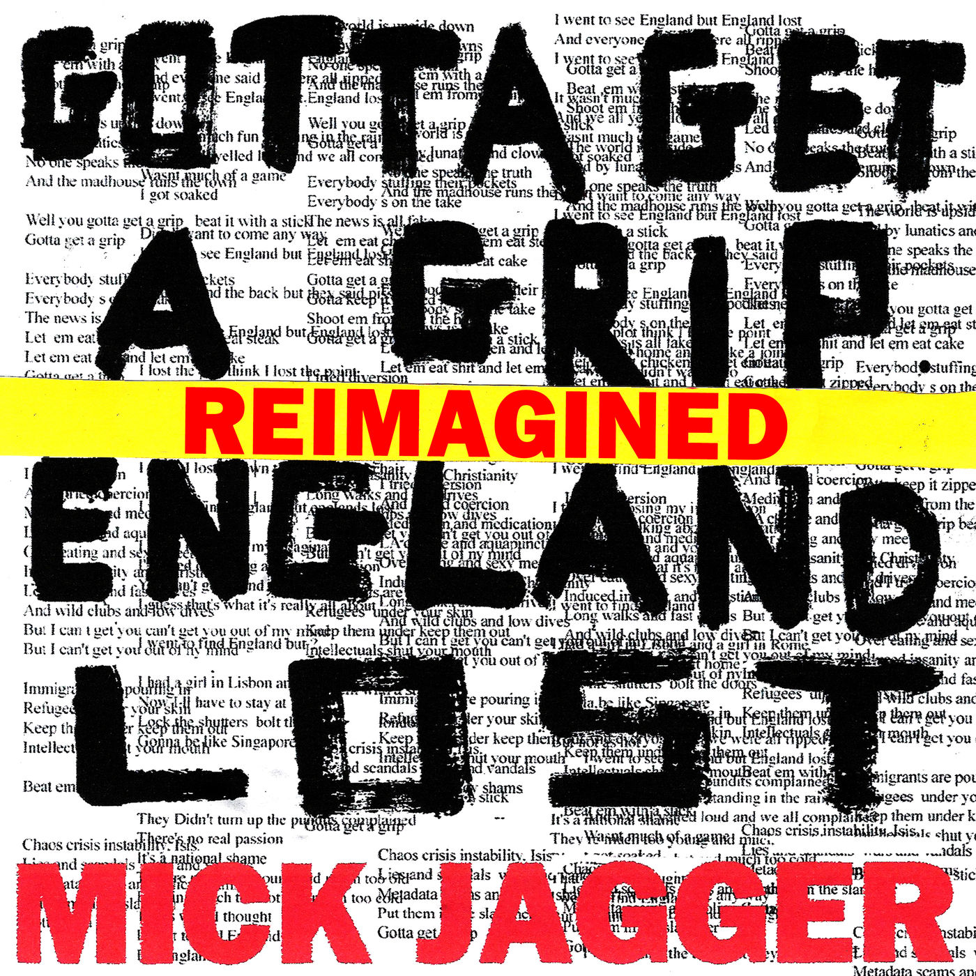 Mick Jagger - England Lost (feat. Skepta) - Single