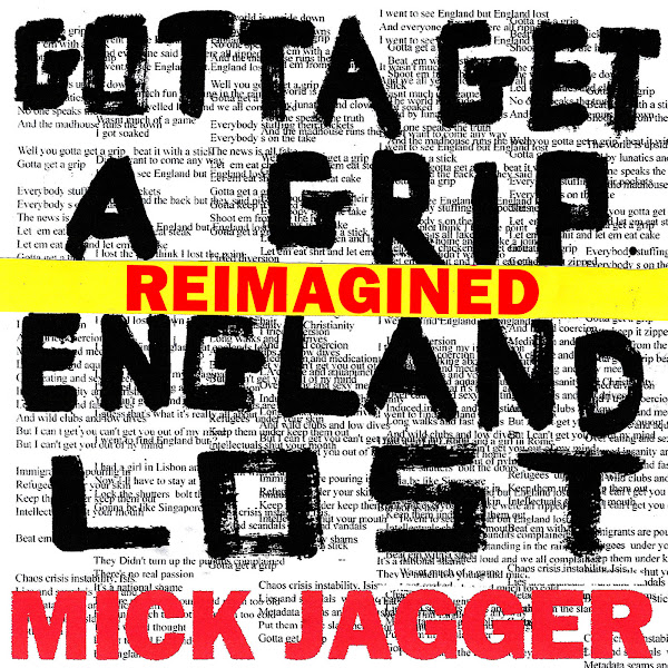 Mick Jagger - England Lost (feat. Skepta) - Single Cover