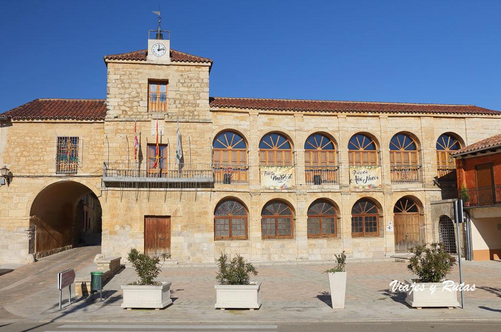 Ayuntamiento de Torrelobatón, puerta de la muralla