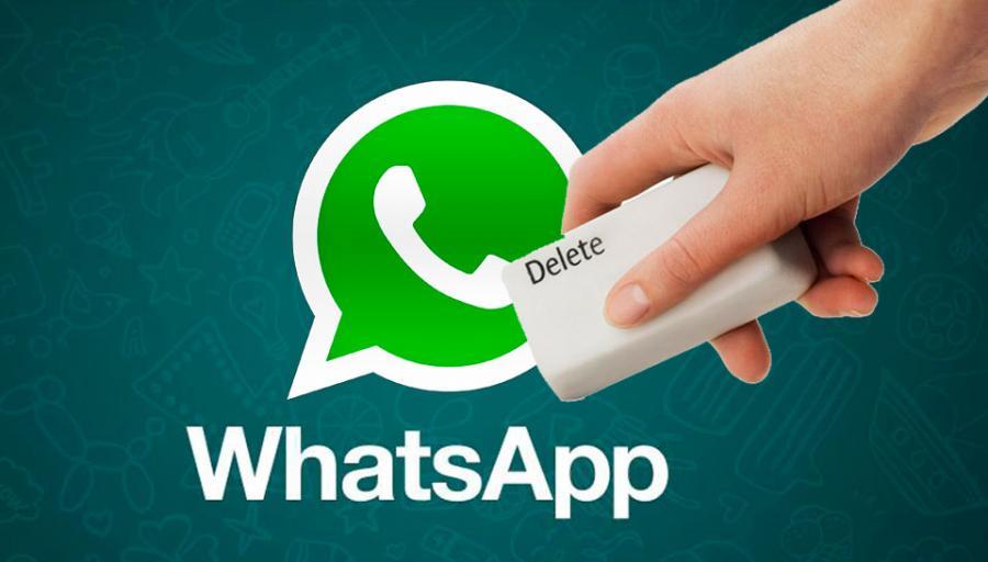 Borrar mensajes de WhatsApp hasta 5 días después