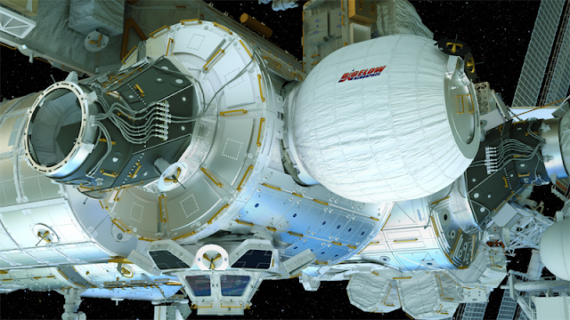 The Bigelow Expandable Activity Module (BEAM) is an expandable habitat technology demonstration that will be tested aboard the ISS.