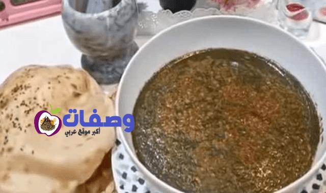 تحويل الملوخية الناشفة الي خضرا فاطمه ابو حاتي
