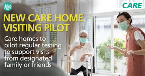 Care home testing pilot has started