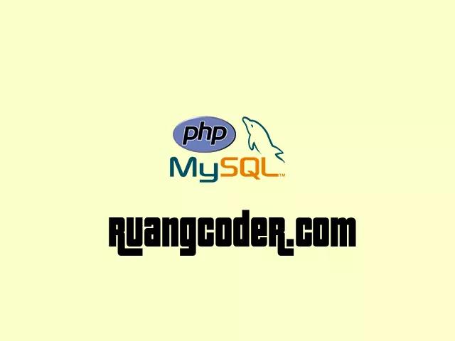 Membuat CRUD dengan PHP dan MySQL
