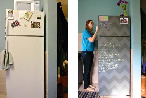 Restyling del frigo - Arredamento facile