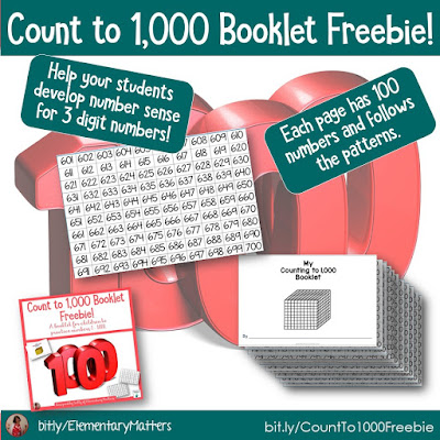 https://www.teacherspayteachers.com/Product/Count-to-1000-Booklet-Freebie-5165506