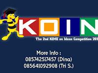 Lomba Karya Tulis Ilmiah Tingkat Nasional Kime On Ideas Competion (Koin) 2016 Kime FE Unnes