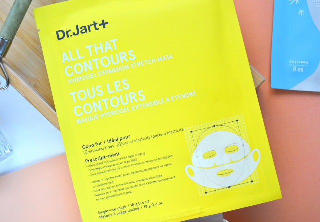 Dr. Jart  All That Contours Hydrogel Expansion Stretch Mask