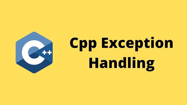 HackerRank Cpp exception handling solution in c++ programming
