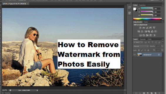5 Easy ways to remove watermark from an Image