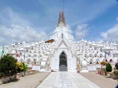 Pagoda Mingun - guía de viaje de Myanmar