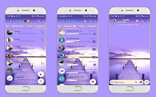 Bridge Cute Theme For YOWhatsApp & Fouad WhatsApp By Leidiane