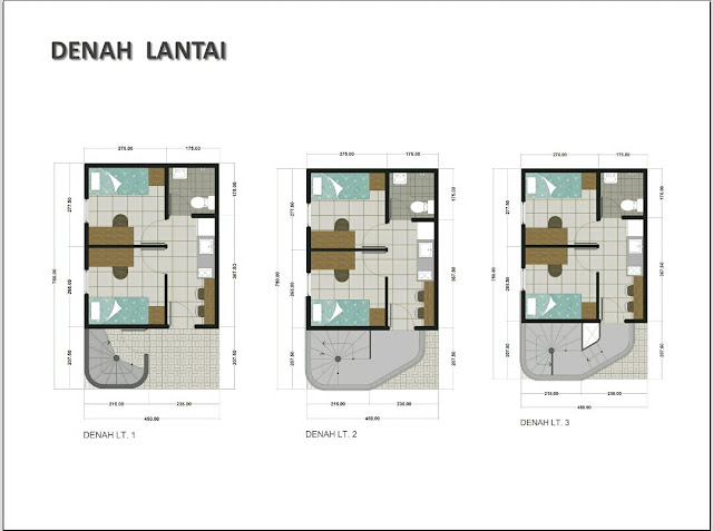 tata ruang anartha townhouse