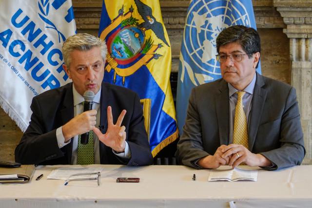Jefe de ACNUR: Estoy impactado por los testimonios de persecución y amenazas de los venezolanos