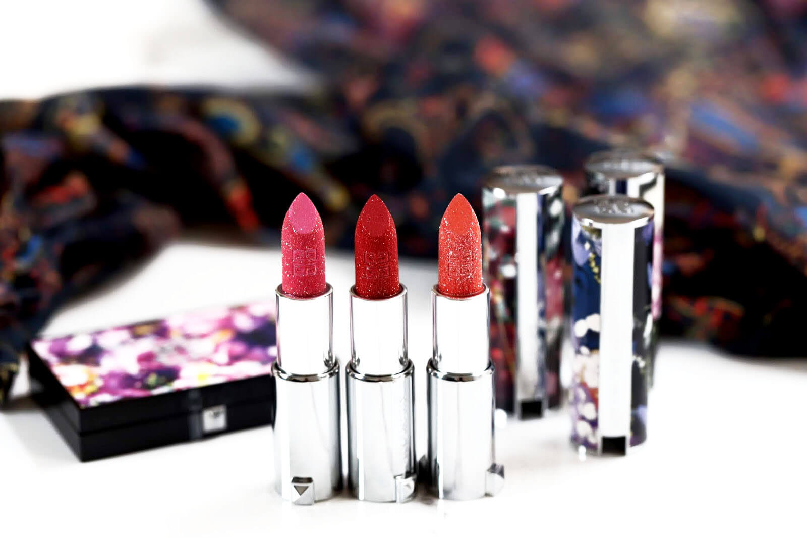 Givenchy Le Rouge Sparkling Poppy peony Lily avis