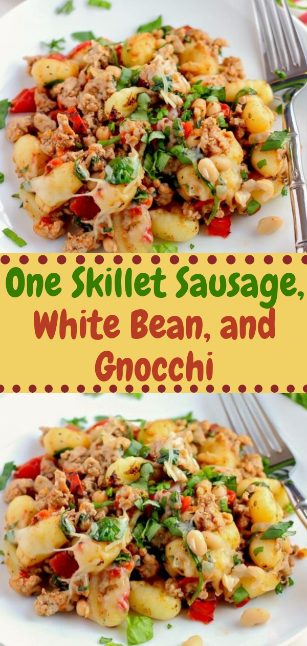 Healthy Recipes   One Skillet Sausage, White Bean, and Gnocchi, Healthy Recipes For Weight Loss, Healthy Recipes For Two, Healthy Recipes Simple, Healthy Recipes For Teens, Healthy Recipes Protein, Healthy Recipes Vegan, Healthy Recipes For Family, Healthy Recipes Salad, Healthy Recipes Cheap, Healthy Recipes Shrimp, Healthy Recipes Paleo, Healthy Recipes Delicious, Healthy Recipes Gluten Free, Healthy Recipes Keto, Healthy Recipes Soup, Healthy Recipes Beef, Healthy Recipes Fish, Healthy Recipes Quick, Healthy Recipes For College Students, Healthy Recipes Slow Cooker, Healthy Recipes With Calories, Healthy Recipes For Pregnancy, Healthy Recipes For 2, Healthy Recipes Wraps, Healthy Recipes Yummy, Healthy Recipes Super, Healthy Recipes Best, Healthy Recipes For The Week, Healthy Recipes Casserole, Healthy Recipes Salmon, Healthy Recipes Tasty, Healthy Recipes Avocado, Healthy Recipes Quinoa, Healthy Recipes Cauliflower, Healthy Recipes Pork, Healthy Recipes Steak, Healthy Recipes For School, Healthy Recipes Slimming World, Healthy Recipes Fitness, Healthy Recipes Baking, Healthy Recipes Sweet, Healthy Recipes Indian, Healthy Recipes Summer, Healthy Recipes Vegetables, Healthy Recipes Diet, Healthy Recipes No Meat, Healthy Recipes Asian, Healthy Recipes On The Go, Healthy Recipes Fast, Healthy Recipes Ground Turkey, Healthy Recipes Rice, Healthy Recipes Mexican, Healthy Recipes Fruit, Healthy Recipes Tuna, Healthy Recipes Sides, Healthy Recipes Zucchini, Healthy Recipes Broccoli, Healthy Recipes Spinach,  #healthyrecipes #recipes #food #appetizers #dinner #sausage #gnocchi #bean