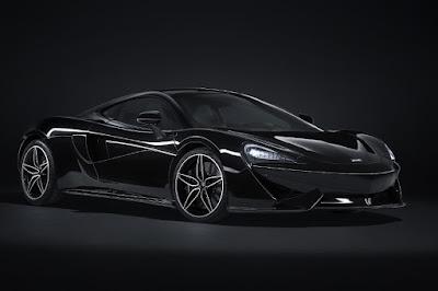 McLaren 570GT MSO Black Collection (2018) Front Side