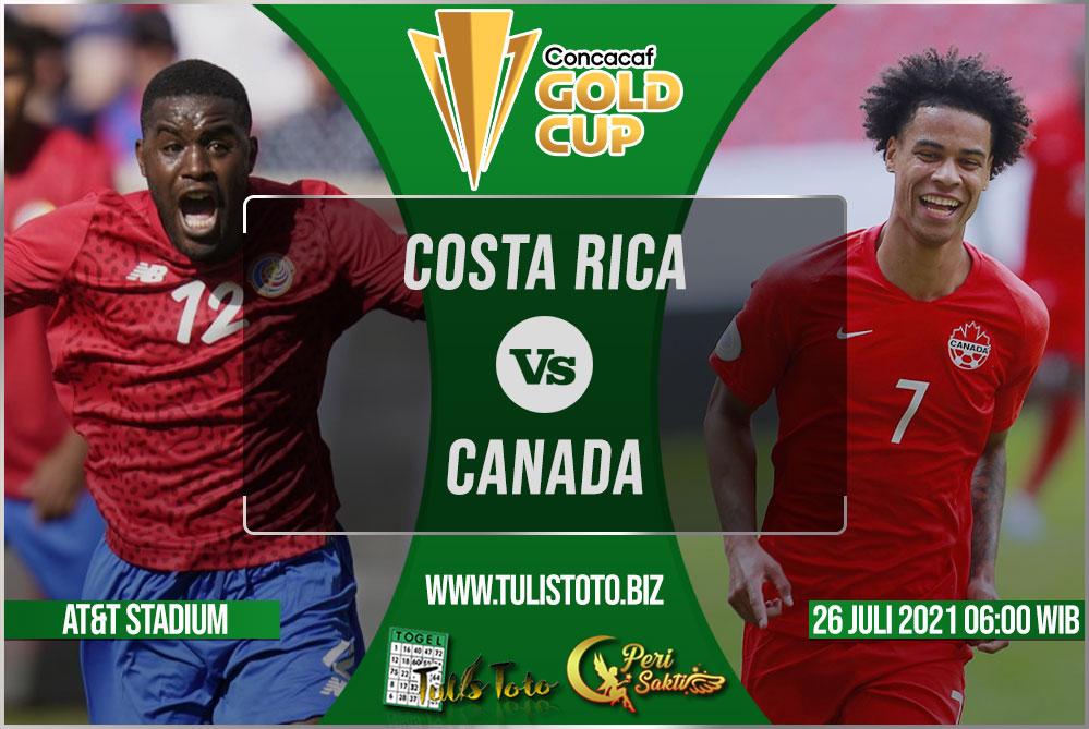 Prediksi Costa Rica vs Canada 26 Juli 2021