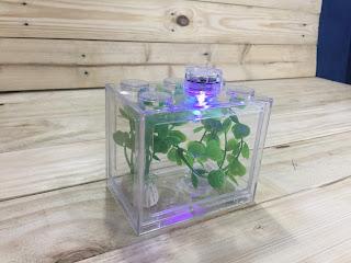 Lego Brick Shape Aquarium Tanks 7