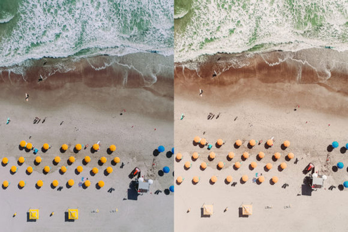 Beach Lovers Desktop Lightroom Presets 4545755