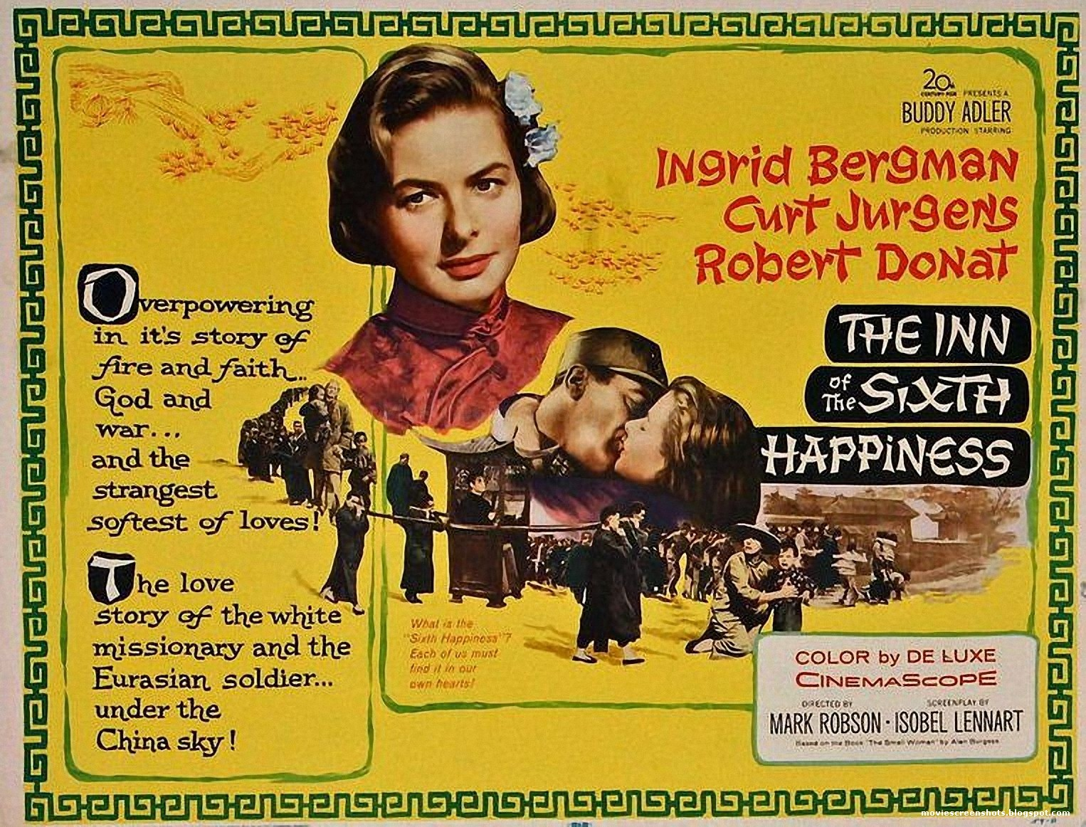 The Inn of the Sixth Happiness (1958)  –  Drama, War, Biography