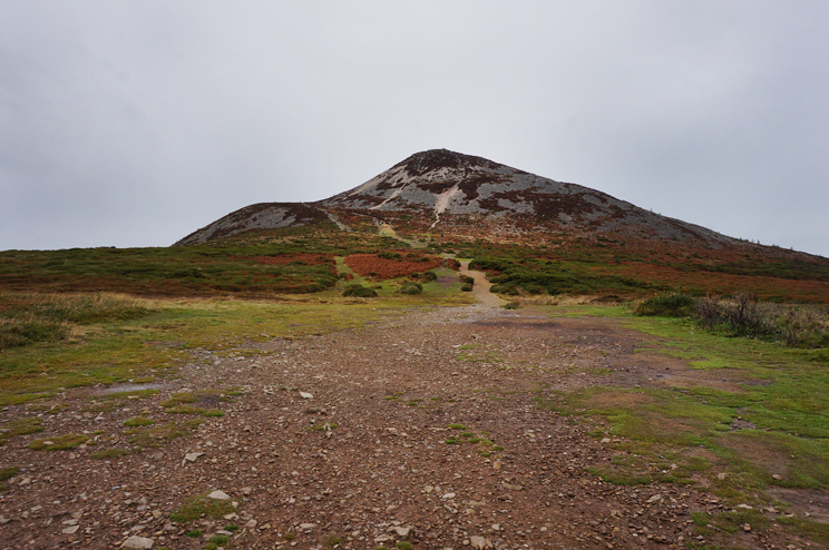 The start of the Sugarloaf Mountain walk