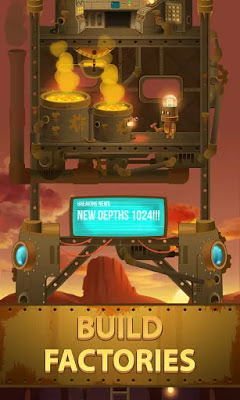 Deep Town: Mining Factory النسخة المعدلة للاجهزة الاندرويد