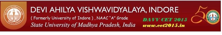 DAVV CET | Devi Ahilya Common Entrance Test | Application