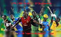 CPL 2020 All Team Players list !! CPL 2020 !! CPL team list