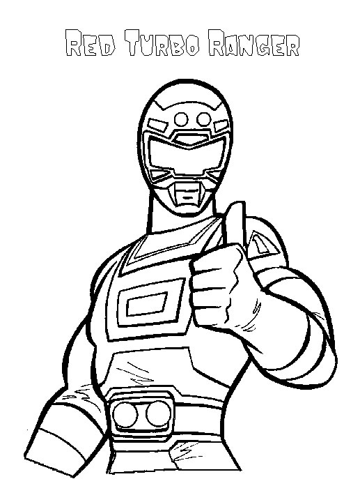 Krafty Kidz Center Power Rangers Coloring Pages