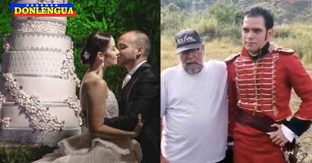 Hermano de Daniela Alvarado no pudo ir a la boda porque estaba grabando una serie chavista para VTV