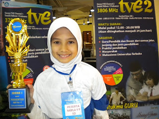 Juara 1 Presenter TV Edukasi