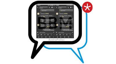 BBM Mod BLACK 2.13.1.13 Apk Terbaru 2016