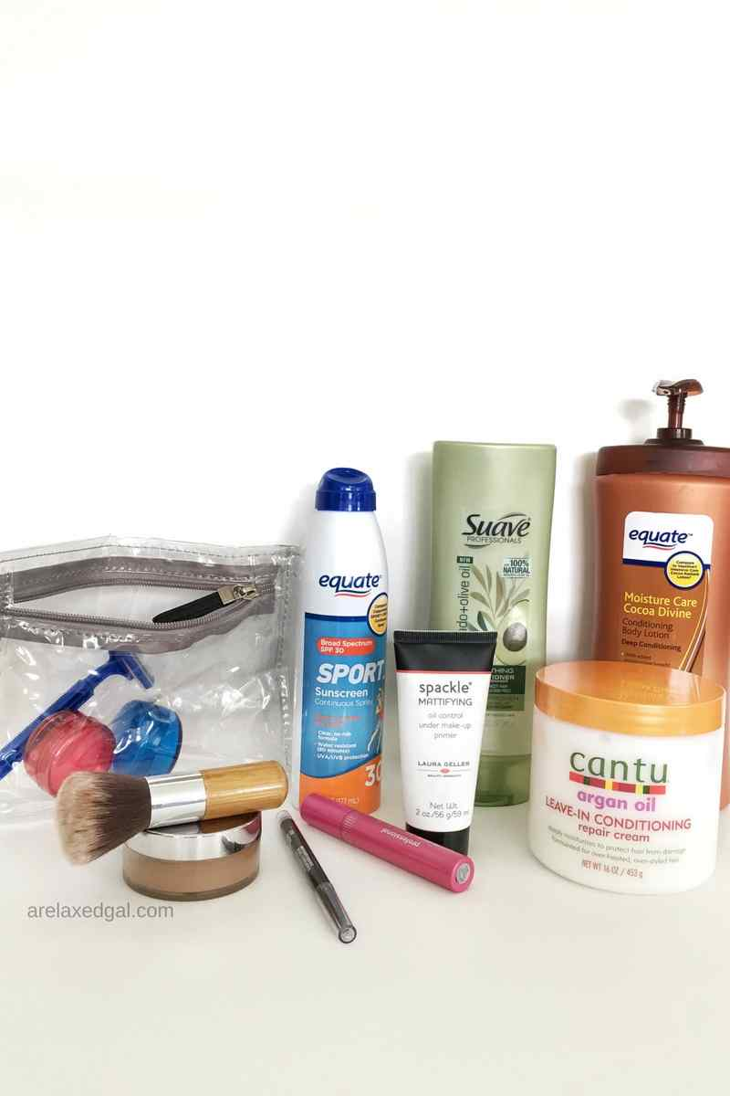12 beauty products I always take with me when I travel. | A Relaxed Gal: Hair + Beauty + Blogging + Finance