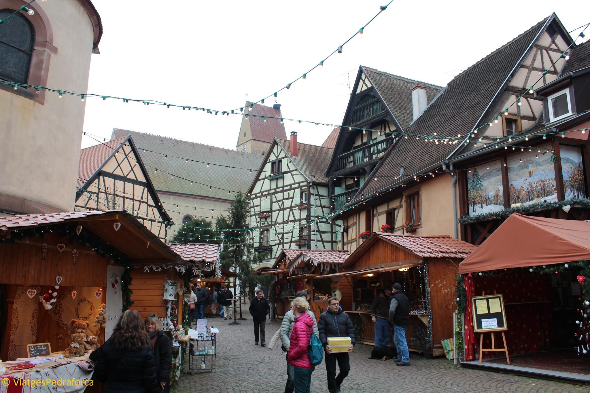 Mercat de Nadal, Els pobles de la Ruta del Vi, els Pobles més bonics de França