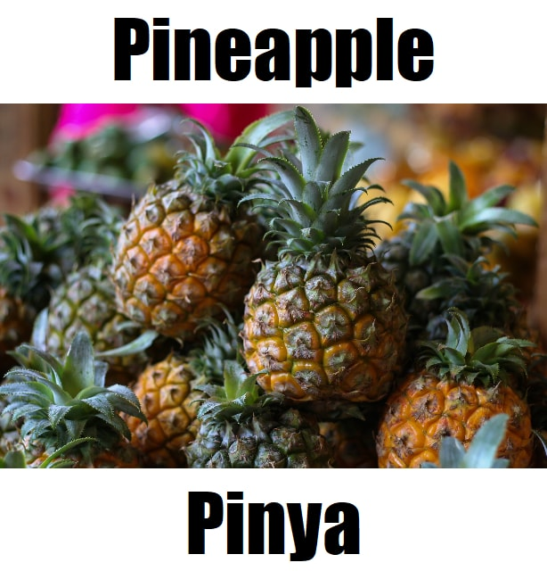 Pineapple in Tagalog