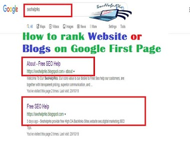 How to rank Website on Google First Page | How to rank Blog Post on Google First Page
