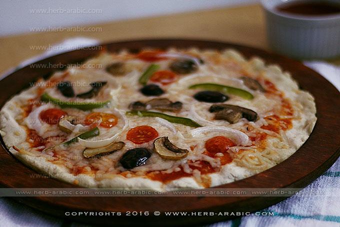 طريقة عمل بيتزا خالية من الغلوتين