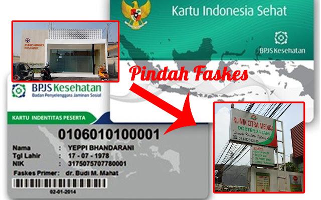 Cara Pindah Faskes BPJS Kesehatan via Online di Android