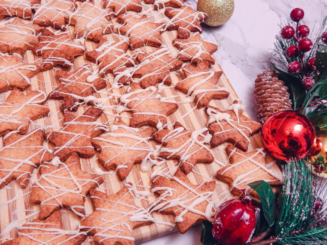 4 Pierniczki inaczej, prosty szybki, łatwy przepis na pierniki ciastka kruche, świąteczne ciastka, ciastka na choinkę jak zrobić pierniki ciastka gwiazdki, blog kulinarny łódź, lifestyle melodylaniella