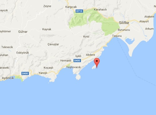 Dana Adası Nerede Haritada Yeri